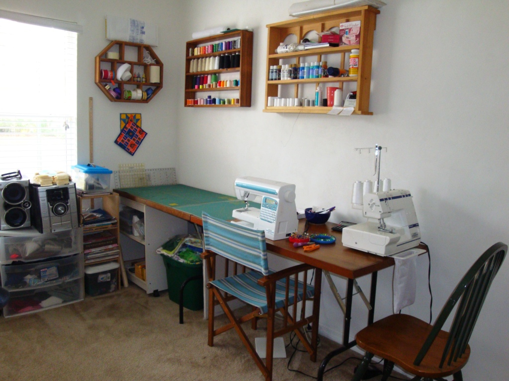 My Home Sewing Studio! - Crafty Gemini
