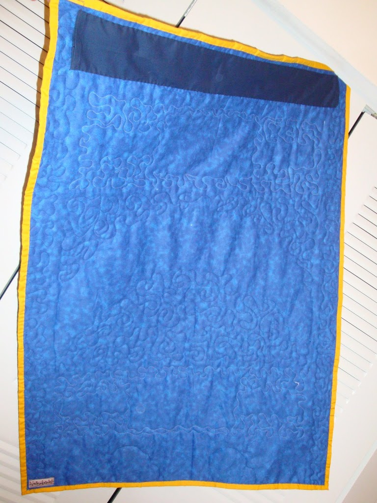 San Diego Chargers Quilt Crafty Gemini