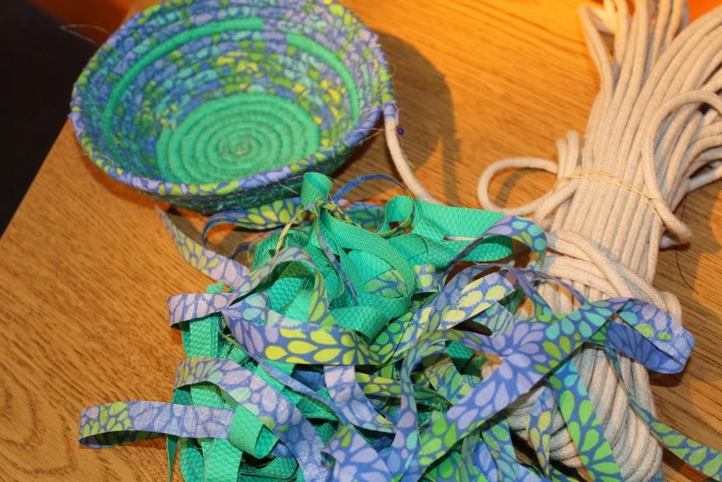 Fabric Bowls Crafty Gemini