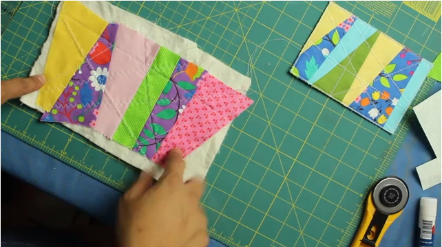 How to Make Quilted Fabric Postcards - Crafty Gemini : what is quilted fabric - Adamdwight.com