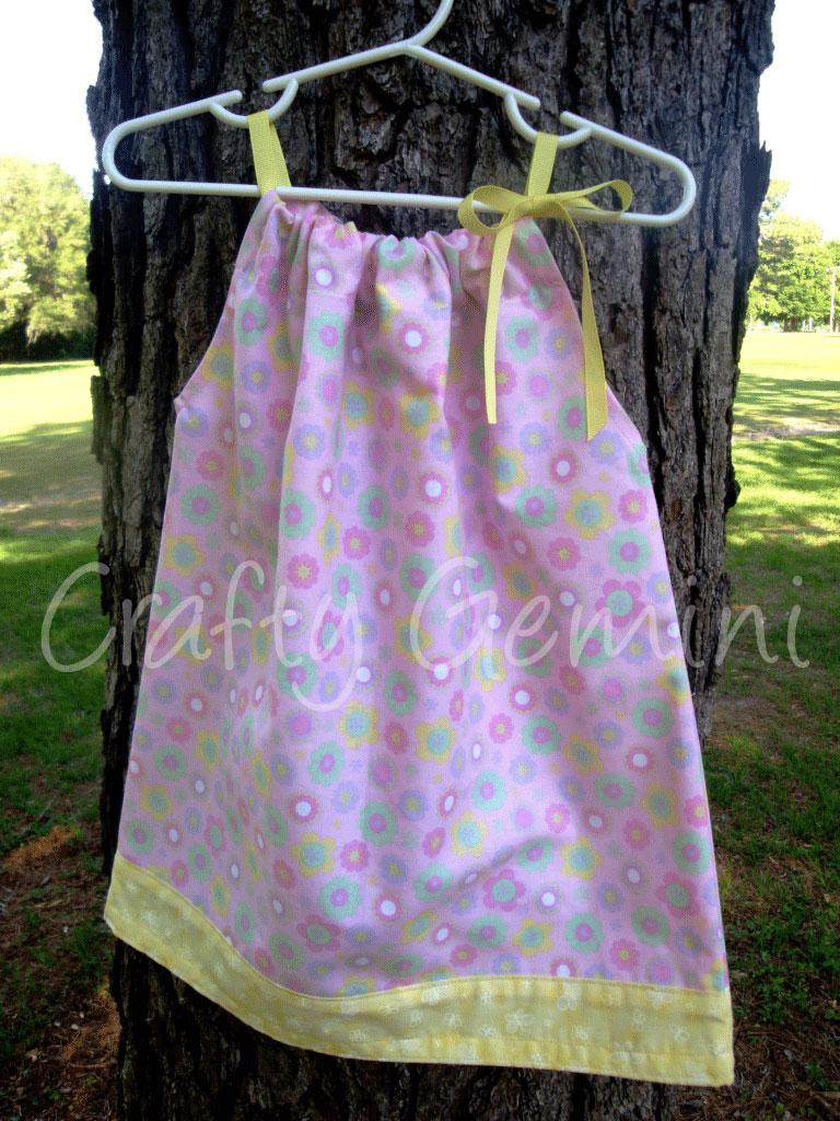 Pillowcase Dresses Crafty Gemini