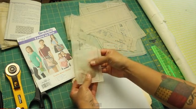 How To Transfer Sewing Patterns To Sturdier Paper Crafty Gemini Interesting Sewing Pattern Paper
