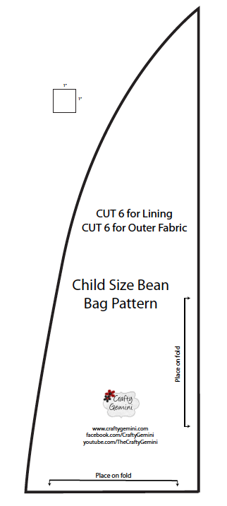 Child Size Bean Bag Chair DIY Video Tutorial Crafty Gemini Awesome Bean Bag Pattern