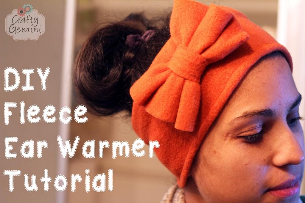 Fleece Ear Warmer - DIY Sewing Tutorial