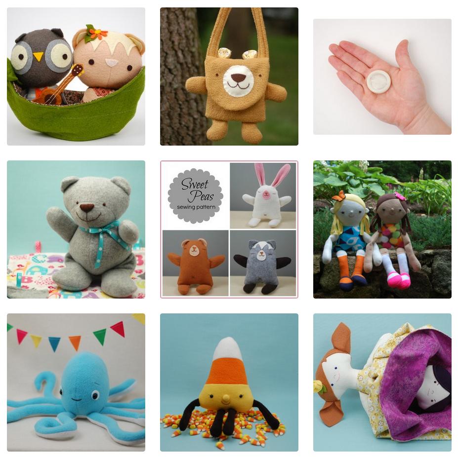 handmade dolls softies