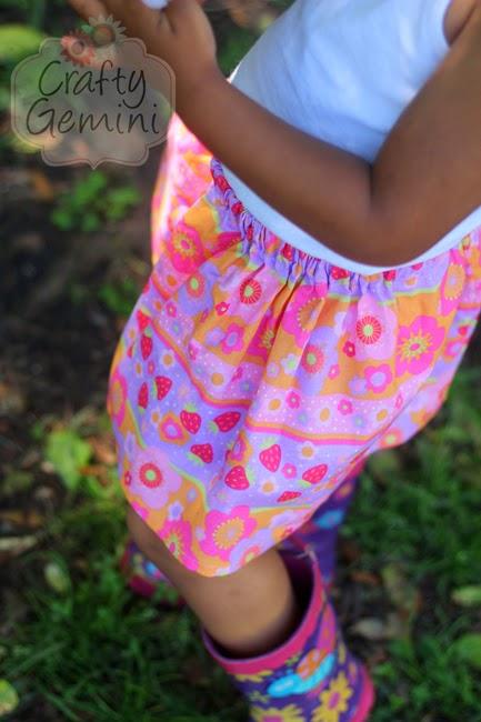 Easy Skirt For Little Girls Diy Video Tutorial Crafty