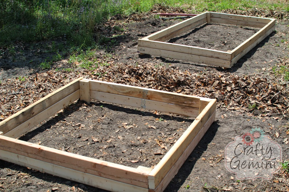 How to build a raised garden bed for under 15 crafty for Making raised garden beds
