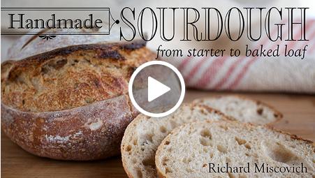 sourdough bread class on Craftsy