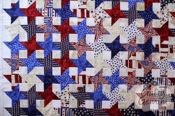stars of valor patriotic quilt