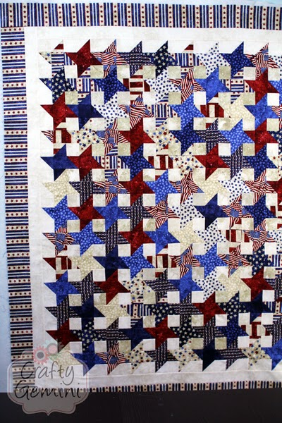 red white blue patriotic quilt