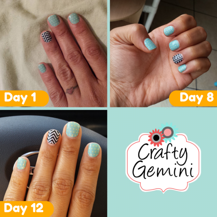 Jamberry Nail Wraps- Review Video - Crafty Gemini