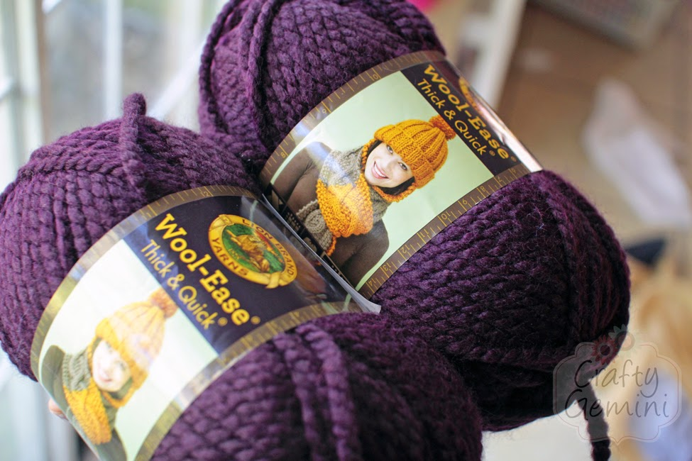 Scarfie Time Lion Brand Wool Ease Thick Quick Yarn Giveaway