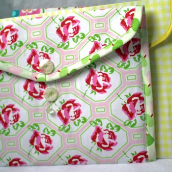 fabric envelope folders by crafty gemini