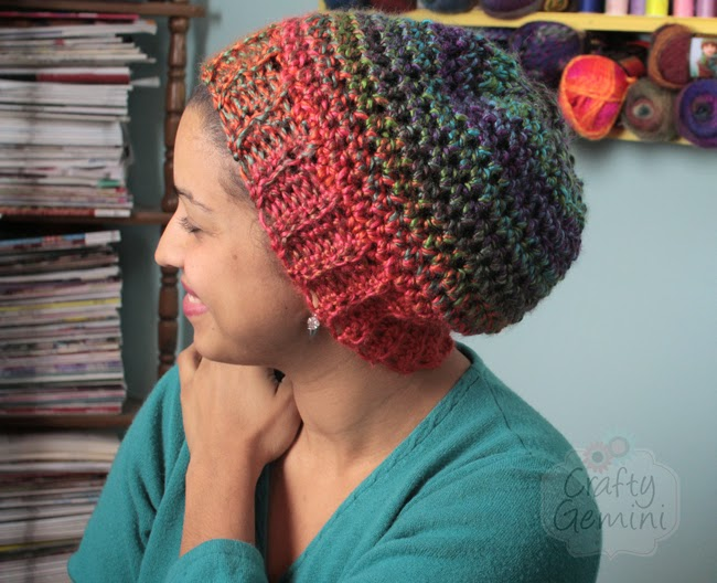Crochet Hat Video Tutorial Lion Brand Yarn Crafty Gemini
