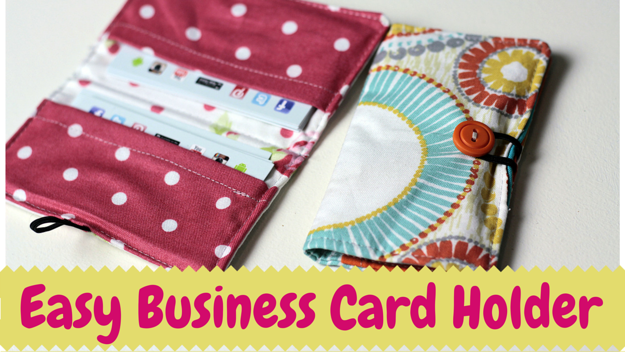 Diy business card holder video tutorial crafty gemini business card holder diy video tutorial reheart Images