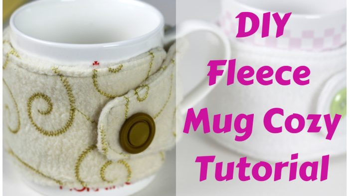 fleece mug cozy