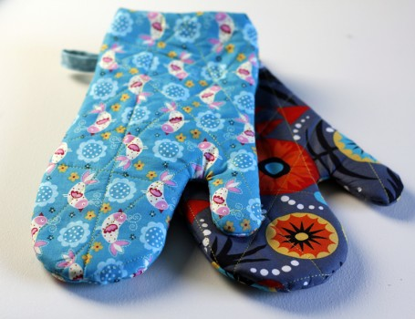 quilted oven mitts video tutorial