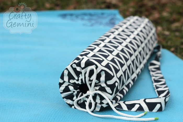 Yoga Mat Bag Video Tutorial Crafty Gemini