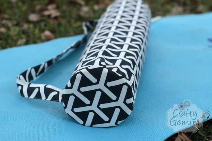 yoga mat bag round bottom video tutorial