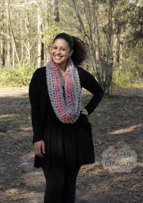 flattering cowl tutorial by crafty gemini crochet