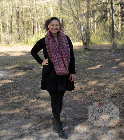 flattering cowl tutorial by crafty gemini