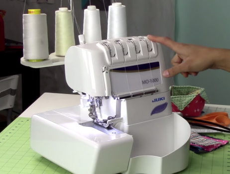 JUKI MO-1000 serger video review