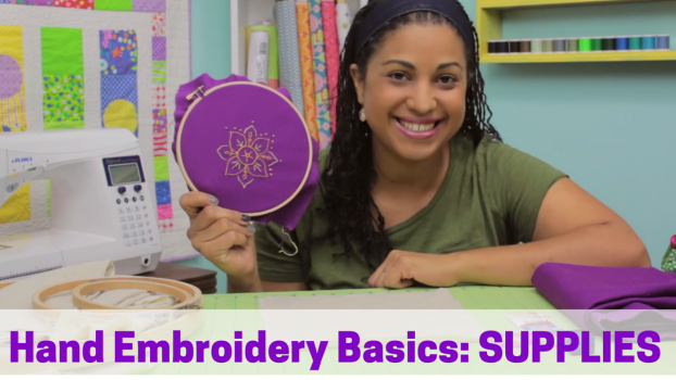 han embroidery video tutorials