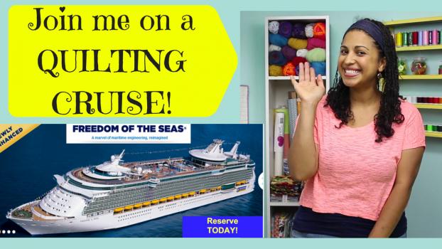 crafty gemini quilting cruise promo video