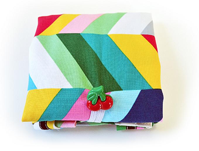folded up market tote bag crafty gemini creates