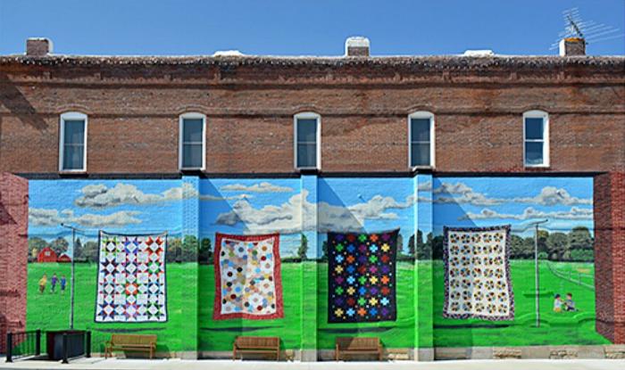 Missouri Star Quilt Co Mural