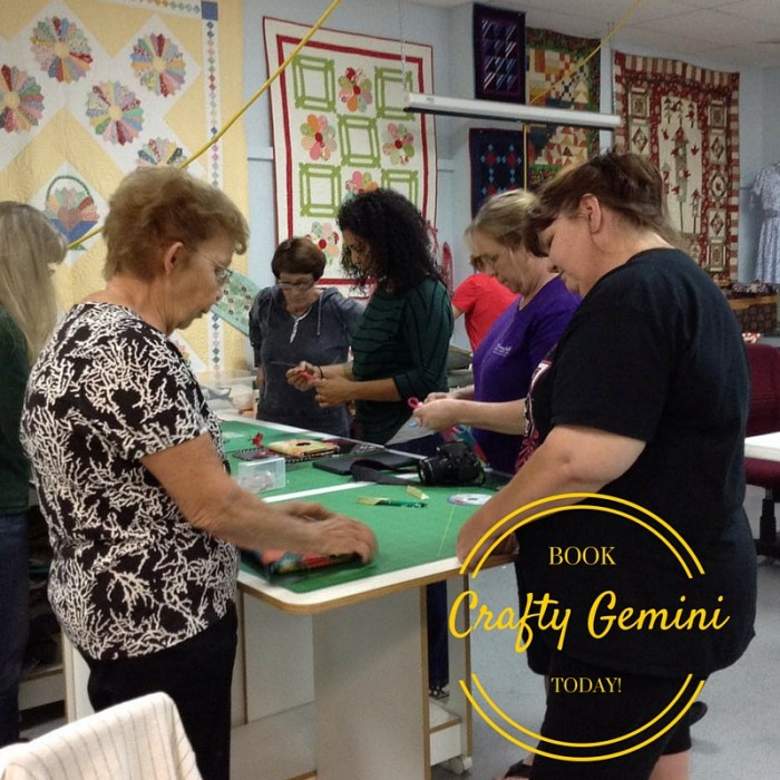 crafty gemini bookings and events