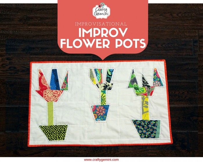 improv flower pots workshop by crafty gemini