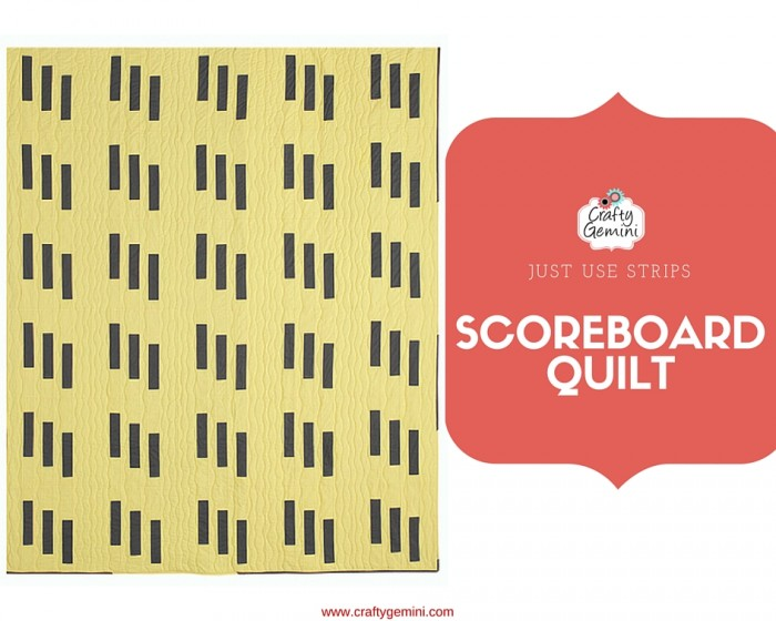 scoreboard quilt by crafty gemini quilty magazine
