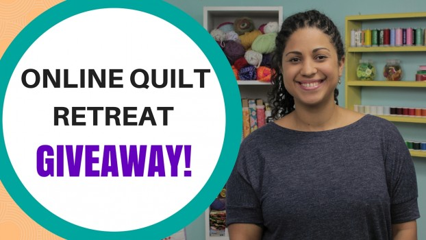 quilted adventure giveaway for online retreat