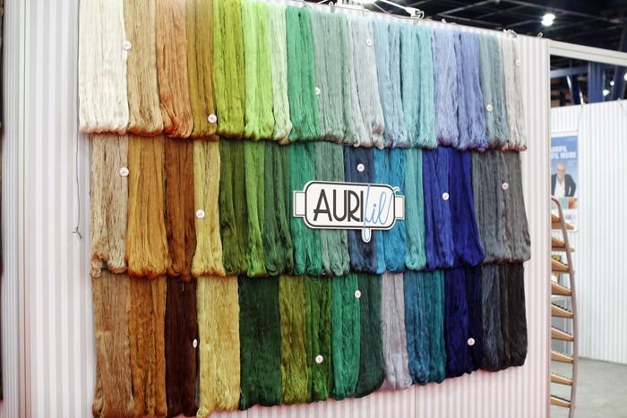 aurifil thread display quilt market fall 2015