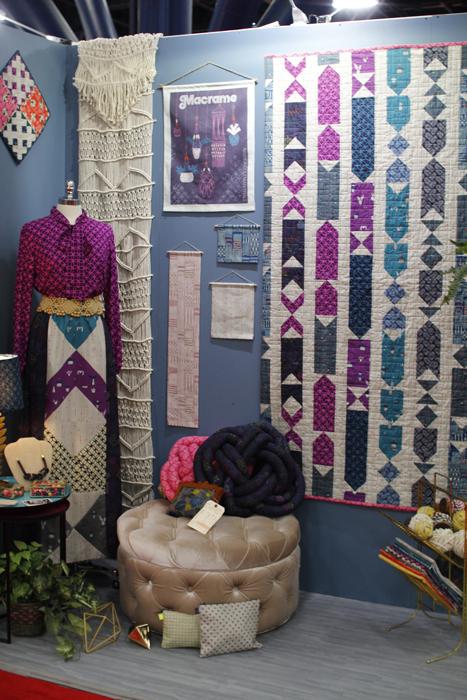 cotton+steel quilt market fall 2015 booths