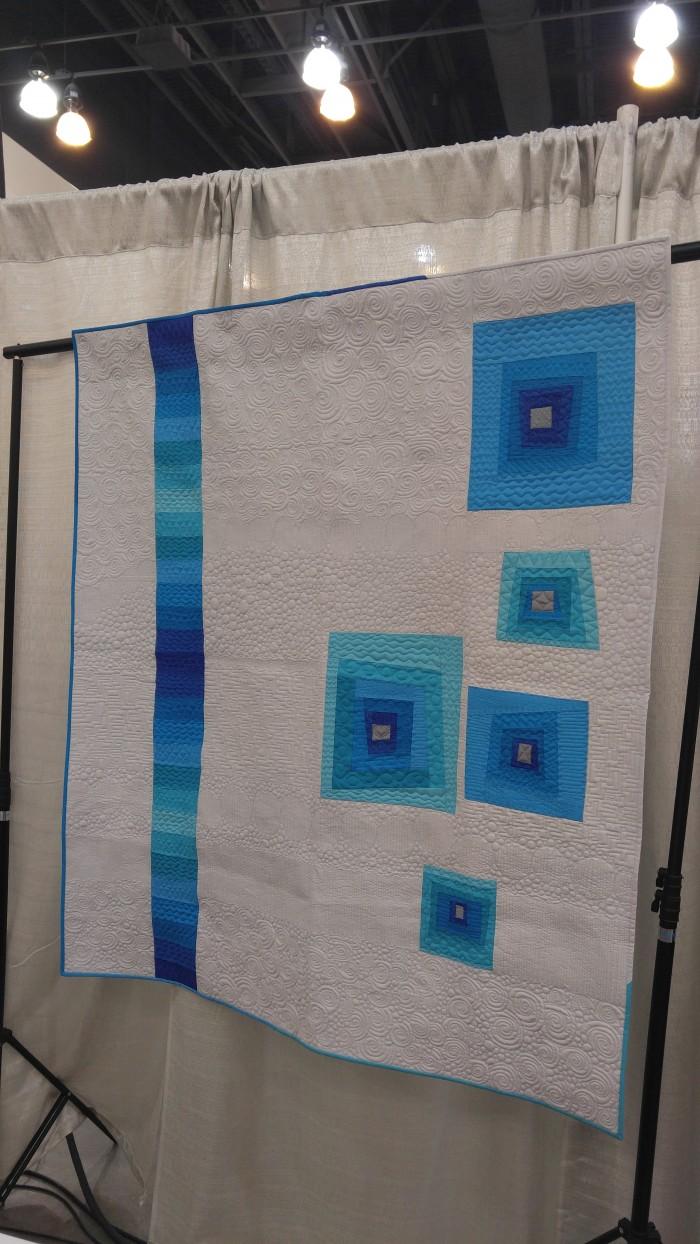 crafty gemini blue springs modern quilt