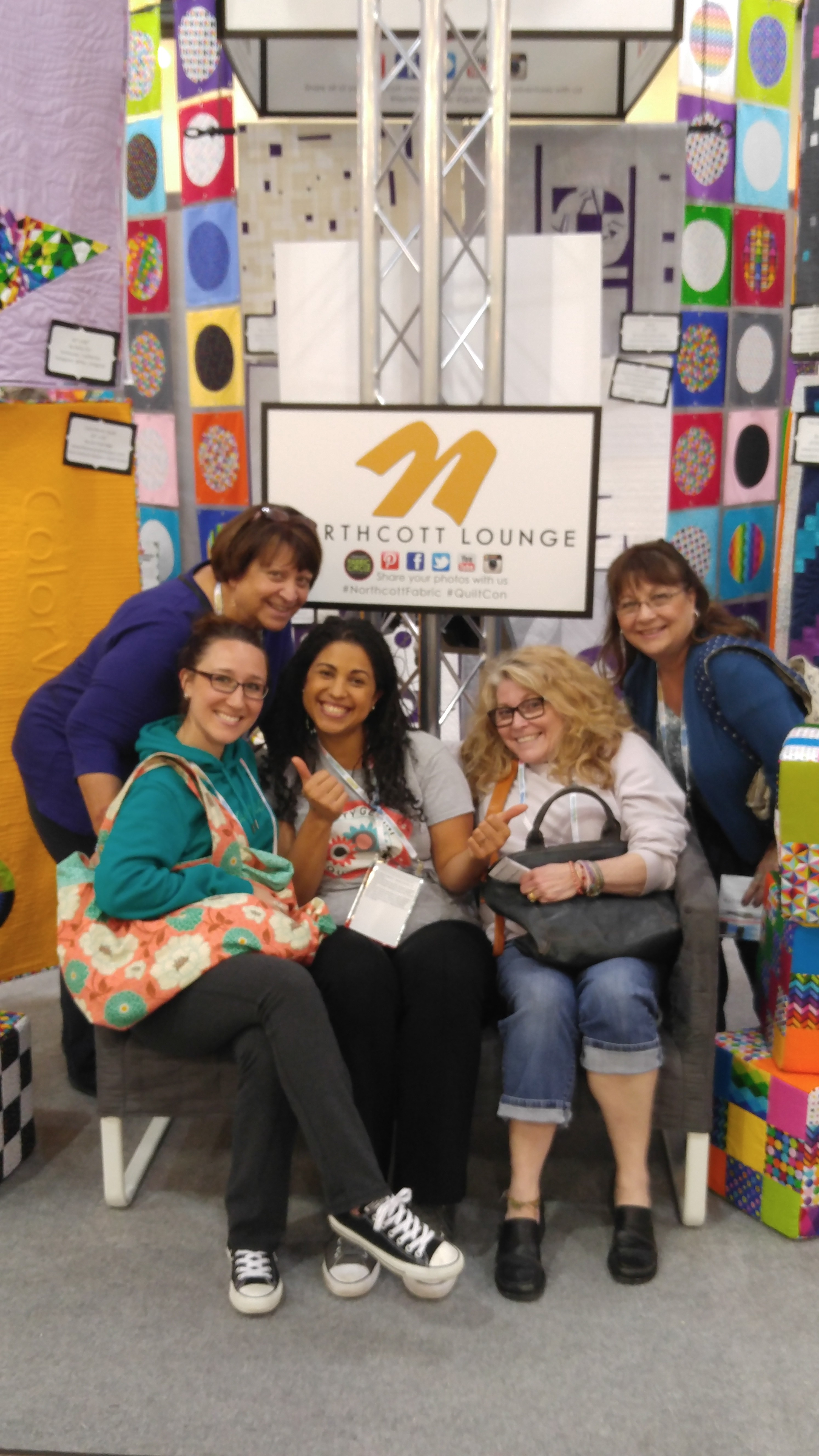 crafty gemini quilt club at quiltcon west 2016