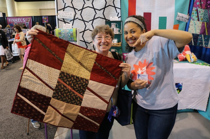 crafty gemini 10 inch slicer quilt at aqs daytona 2016 show
