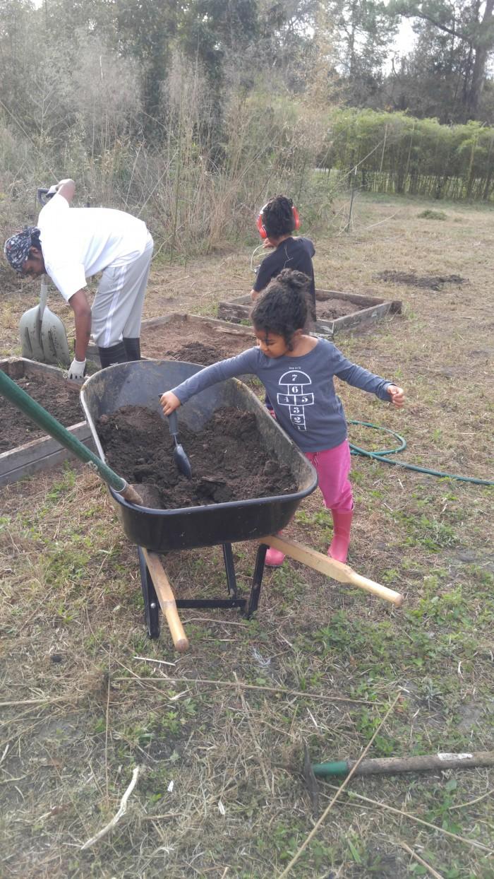 crafty gemini garden with kids