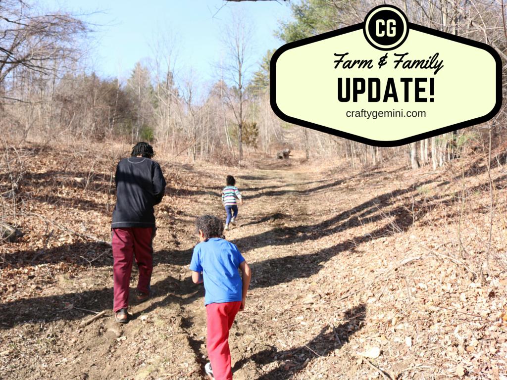 Farm & Family Update craftygemini vermont