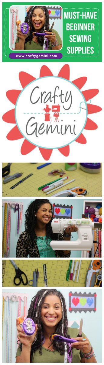 A great video by The Crafty Gemini with links included that talks about beginner sewing supplies, and gives options for those on a budget too!