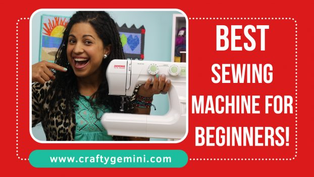 best sewing machine for beginners viideo review of janome 2212 by the crafty gemini