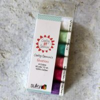 Crafty Gemini's Favorites 12 wt cotton thread by Sulky