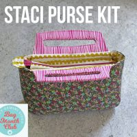 staci purse kit for crafty gemini video bag of the month club