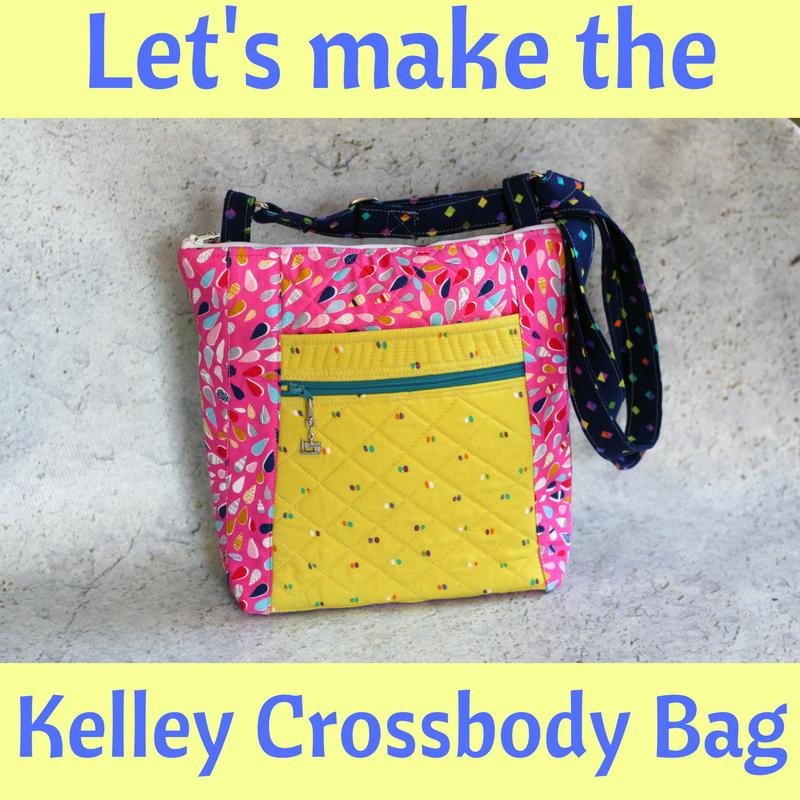 Kelley Crossbody Bag PDF Pattern & Videos - Crafty Gemini