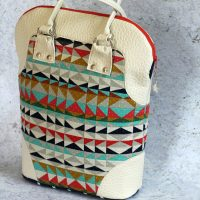 metro tote bag kit crafty gemini bag of the month club