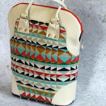 metro tote bag kit crafty gemini bag of the month club