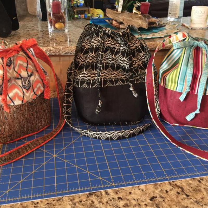 loraine bucket bag by crafty gemini