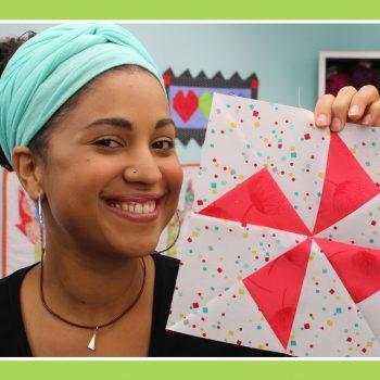 turnstile quilt block by craftygemini